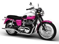 3dsmax triumph bonneville t100 2012