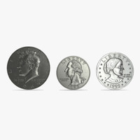 coins set silver 3ds