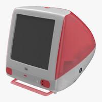 3d apple imac
