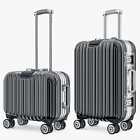 Suitcase Travel Kingtrip Normal And Small Black