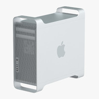 3d model apple mac pro tower