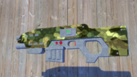 rifle halo 3d max