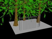 3dsmax iron fences pack