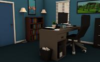 3ds max office scene