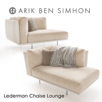 Lederman Chaise Lounge by Arik Ben Simhon