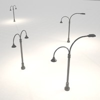max street lamps lights 2