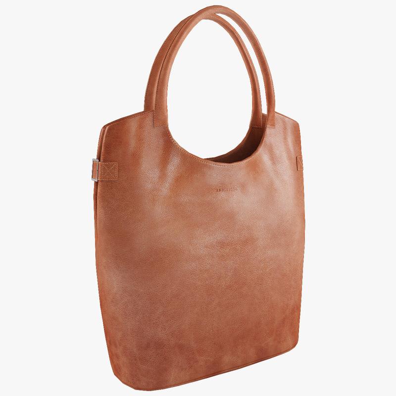 Handbag Jannissima Eco Leather cognac (1).jpg