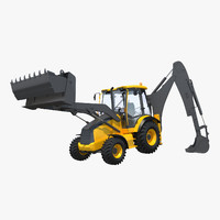 Backhoe Rigged