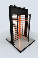 rotative gate 3d model