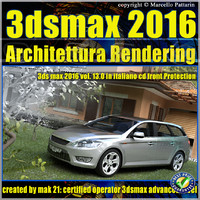 013 3ds max 2016 Architettura Rendering vol13 cd front