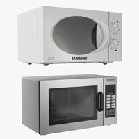 3ds max microwave ovens