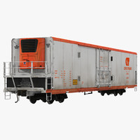 3ds railroad refrigerator car cryotrans