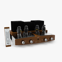 3d tube amplifier sinfonia model