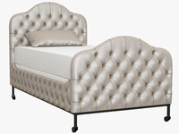 3d francesca bed model