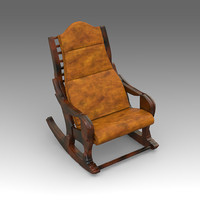 3ds max rocking chair