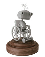 3d model robot grandmother machinarium