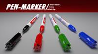 3ds max penmarker marker