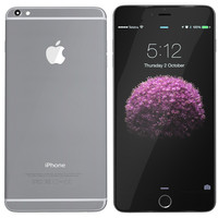3ds modelled iphone 6 spacegrey