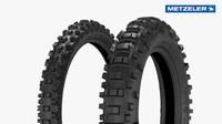 3d metzeler fim enduro tires model