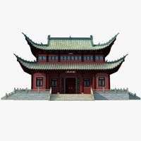 3d chinese building 1