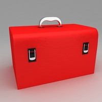 3d tool box portable model