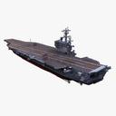 aircraft carrier 3D models