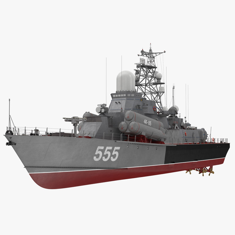 Missile Corvettes of the Soviet Navy Nanuchka class Project 1234 3d model 00.jpg