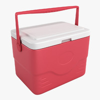 3d ice chest realistic model
