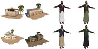 maya arab house man pack