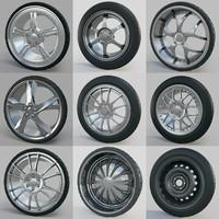 3dsmax car wheels 10