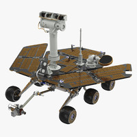 3d model opportunity rover