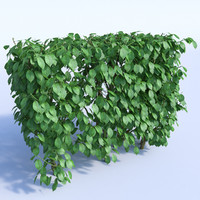 set bushes 1 3d model