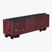 3ds max box car