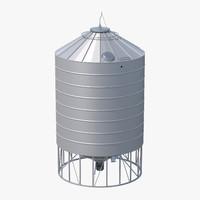 obj silo grain