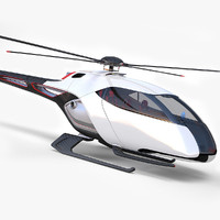 helicopter future 3d 3ds