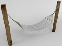 3d model hammock