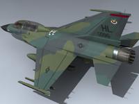 maya usaf f-16b falcon eye