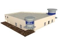 pier1 imports building 3d max