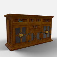 3ds max cancun sideboard aparador