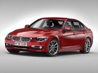 3d max bmw 3 series car