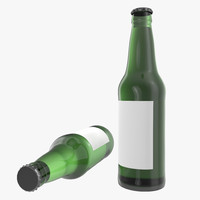 3d beer bottle 2