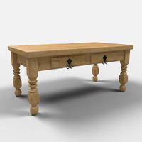 cancun coffee table mesa 3d max