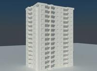 2015 apartment 3d model