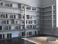 bookshelf mentalray reading 3d max