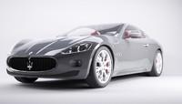 car maserati 3d model