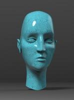 statue head 3ds