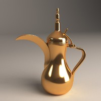 arabic teapot 3ds