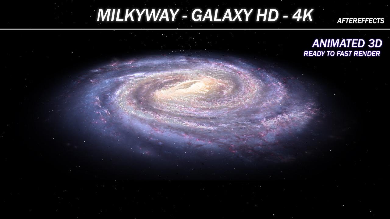galaxy effects 3d model