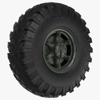 Big Truck Wheel ZIL