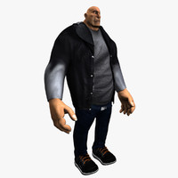 Cartoon Male Heavy
